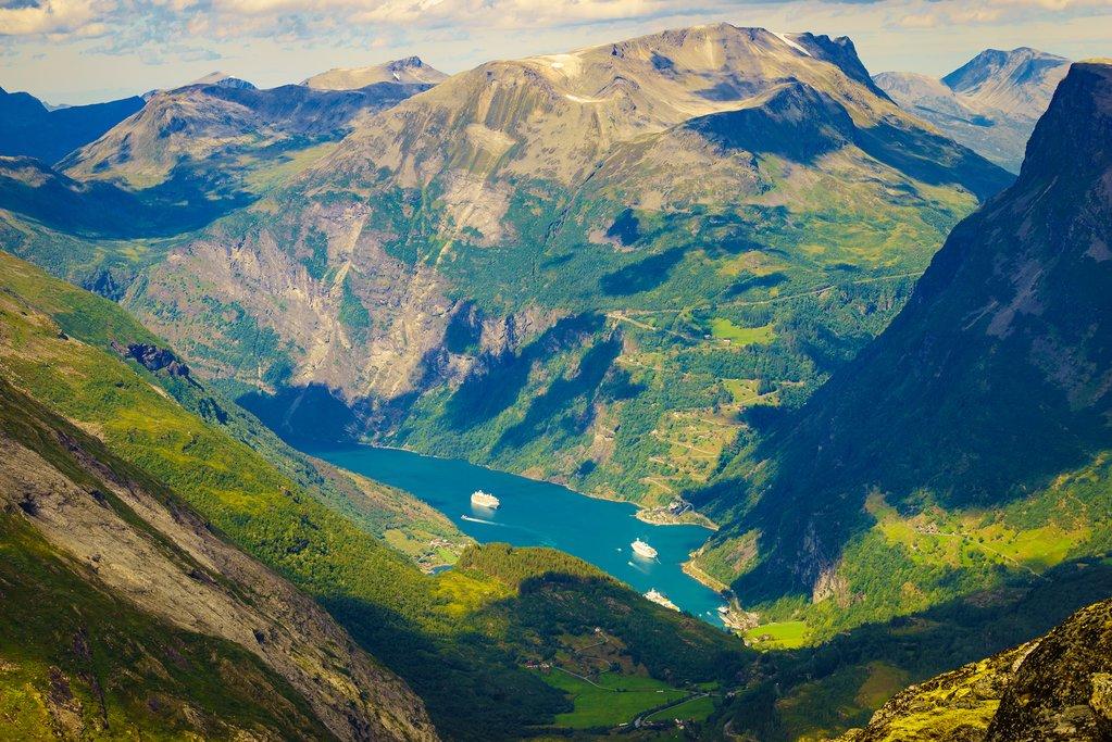 Views of the Geirangerjord