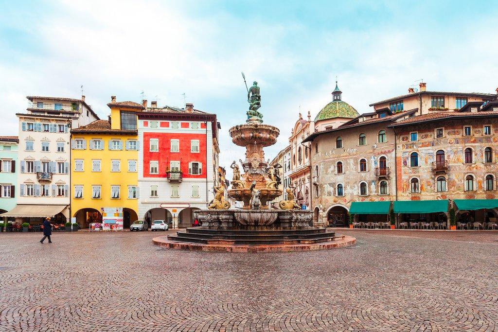 Piazza del Duomo, Trento, Italy