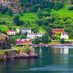 The  beautiful villages of the Sognefjord