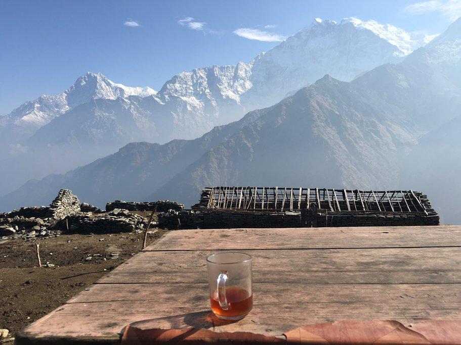 Enjoy a tea amid the great views!