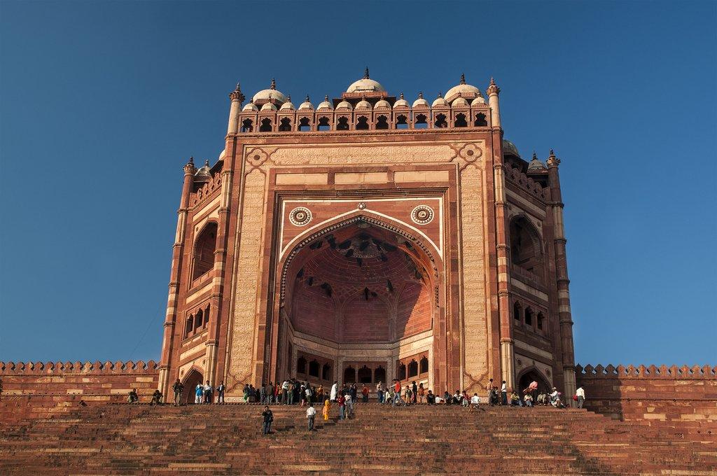 India - Fatehpur Sikri - Gate