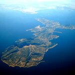 Aerial View of Elba Island - Photo by Mjobling