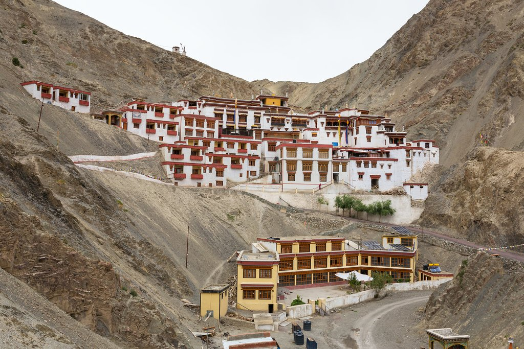 Rizong Buddhist monastery near Leh