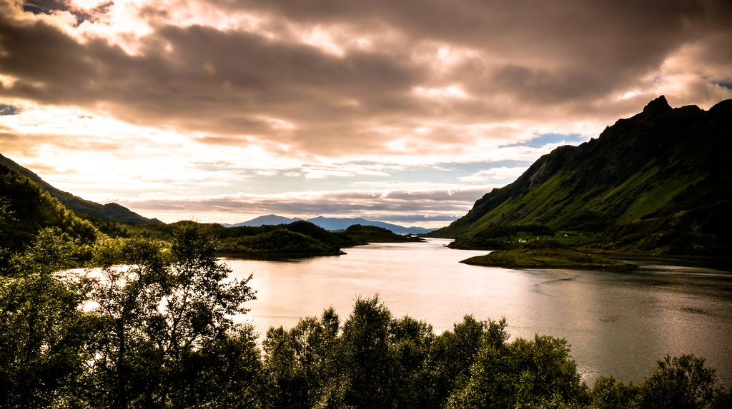 Northern Norway offers long days of sunlight during summer months