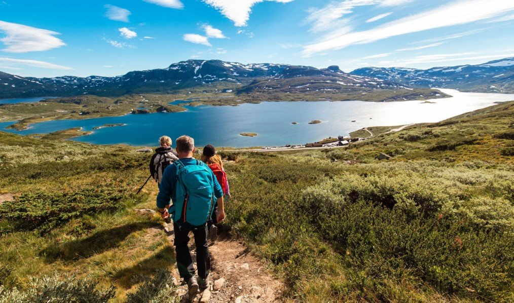 Enjoy a short hike at Hardangervidda