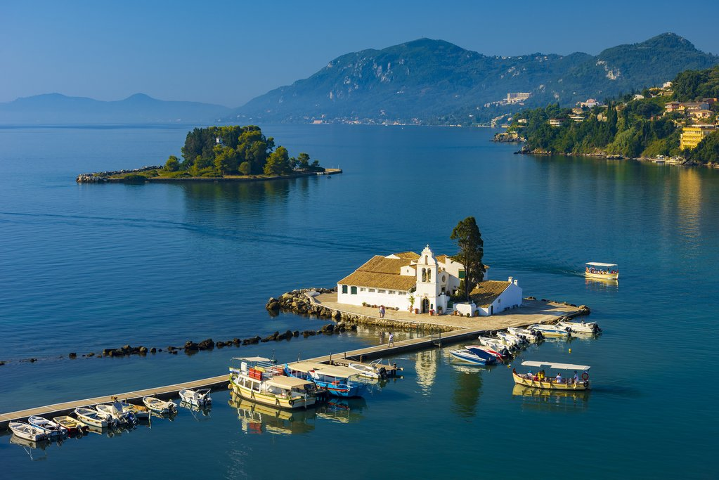 Peaceful islets of Corfu