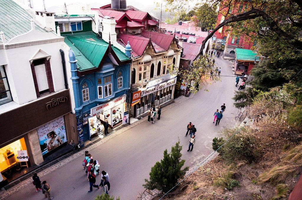 British vibes in Shimla, India