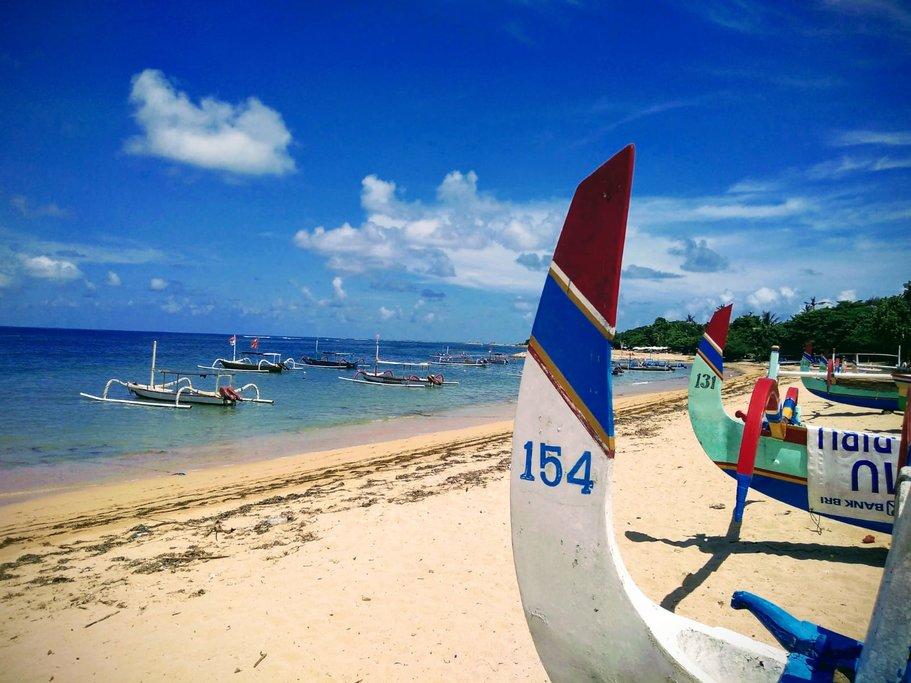 Sanur beachfront