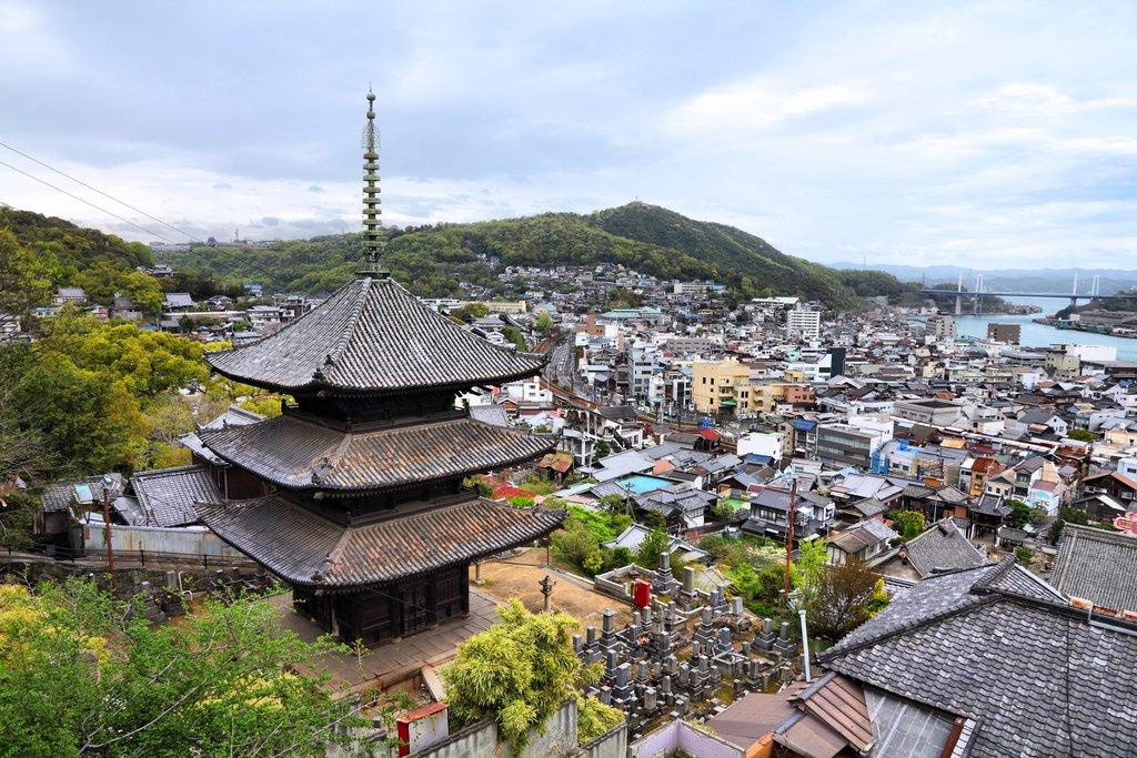 View of Onomichi, Japan