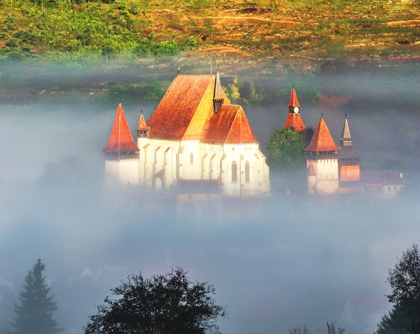 Biertan Church in Transylvania