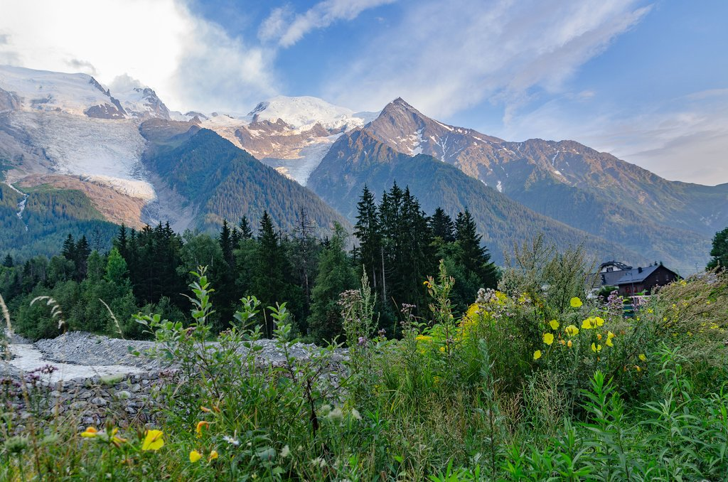 Hiking in the Chamonix Valley