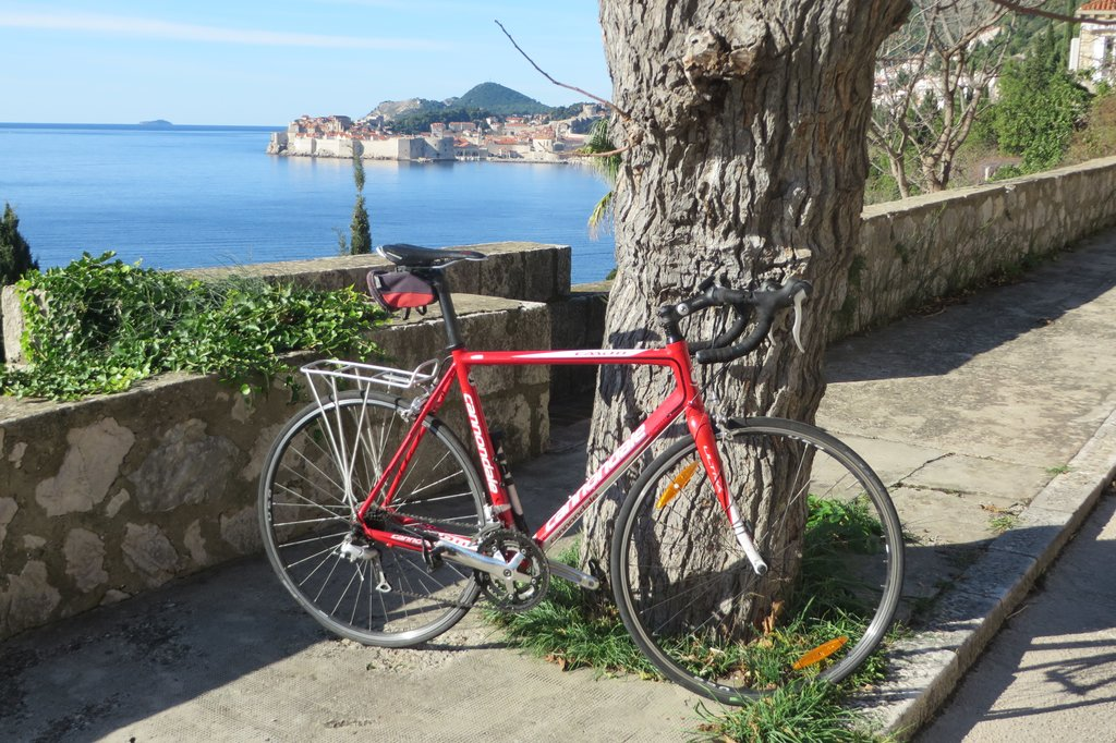 Stretch your legs with a ride outside of Dubrovnik's city walls
