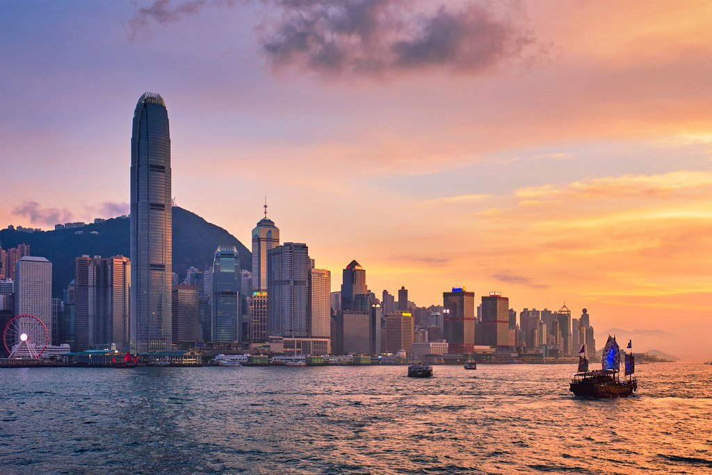 Hong Kong is comprised of more than 200 islands, including Hong Kong Island, the New Territories, Lantau Island, and the Kowloon Peninsula