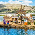 Daily life on the floating islands