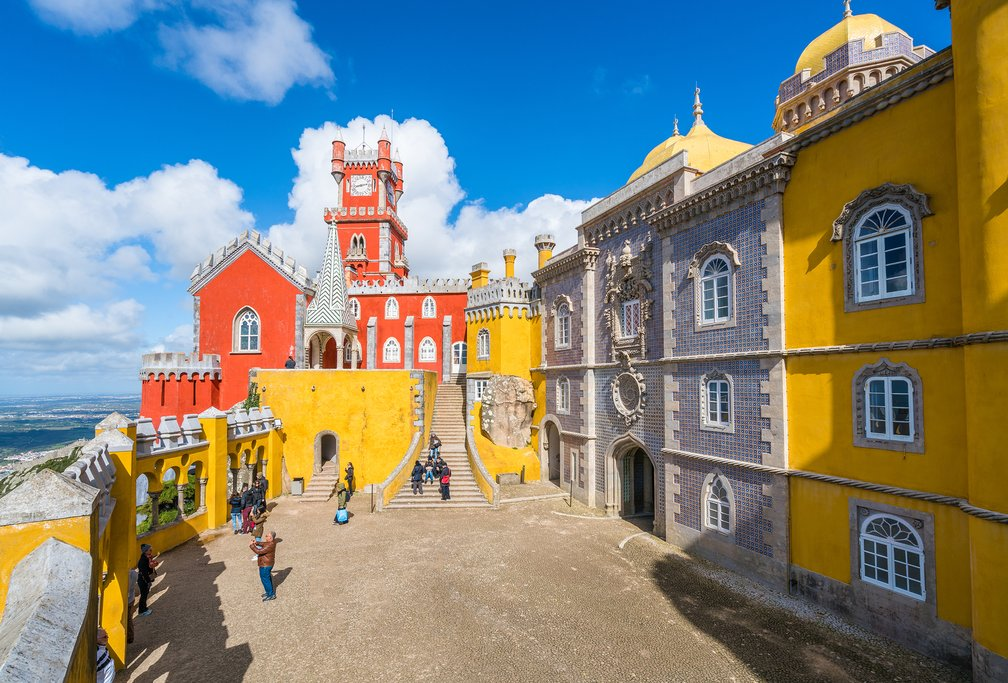 Sintra is a popular day trip from Lisbon