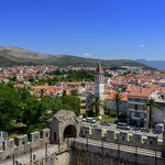 The island of Trogir from Kamerlengo Fortress