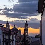 Sunset in La Candelaria, Bogotá