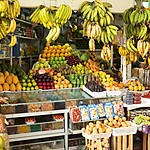 A fruit stand boasts a large selection