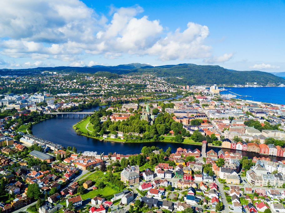 Trondheim is Norway's third largest city