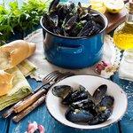 Prepare a traditional Mediterranean meal