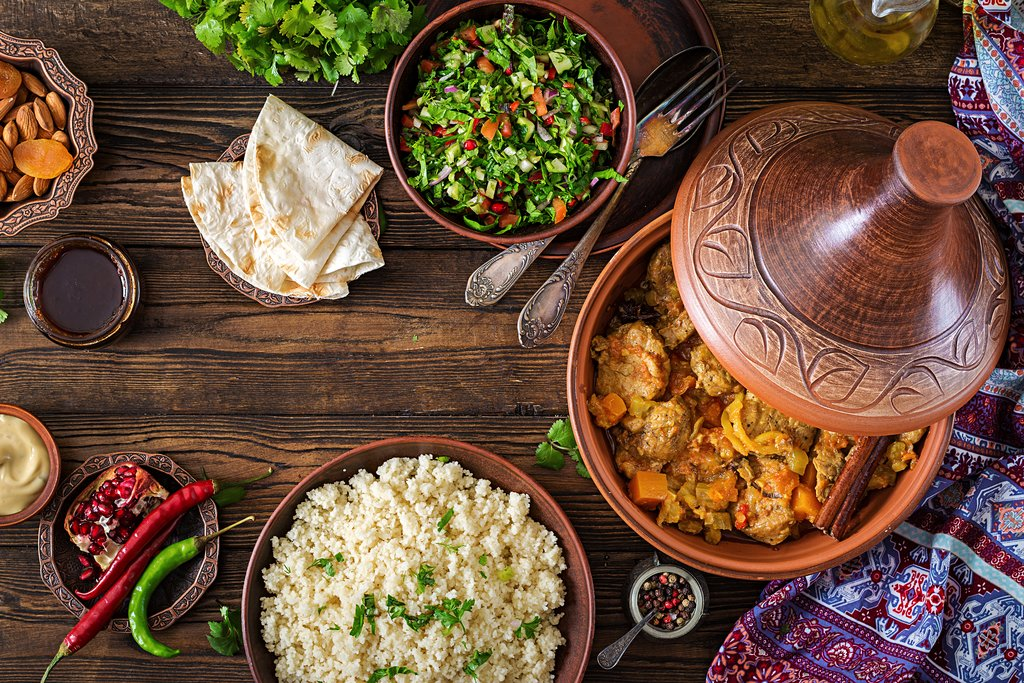 Traditional Tagine dishes