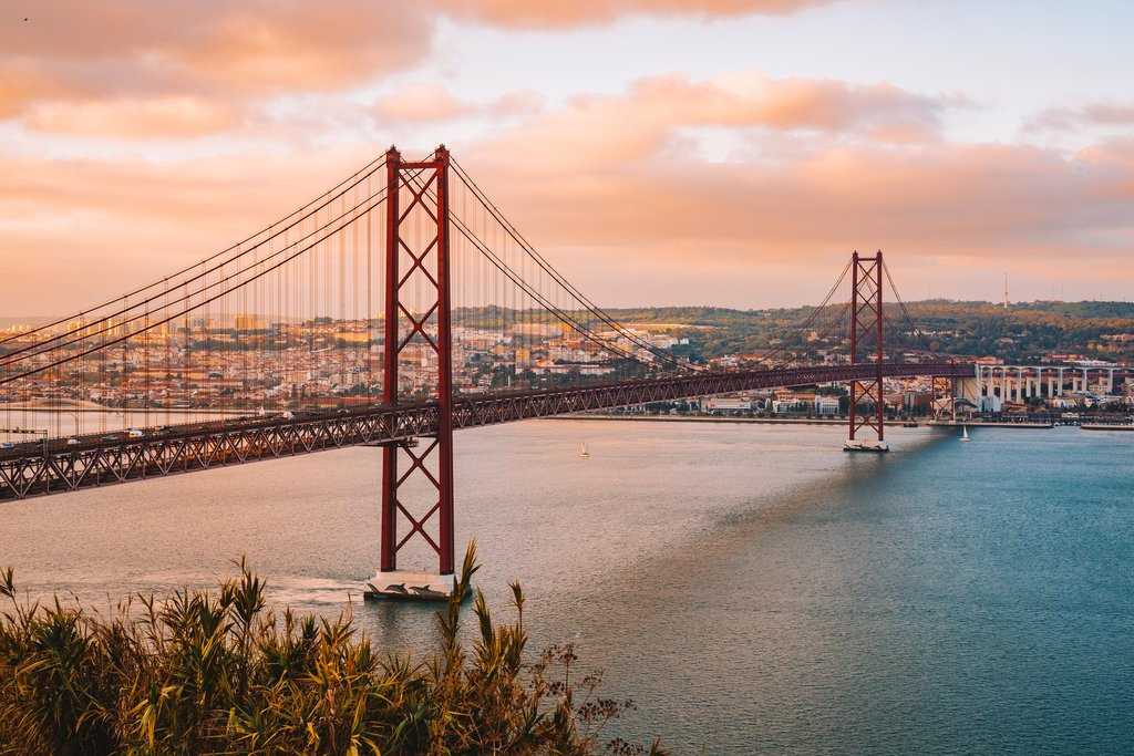 Lisbon's Abril Bridge