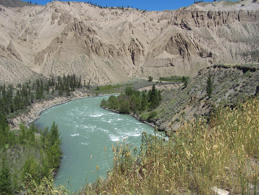 Banks of the Chilcotin River