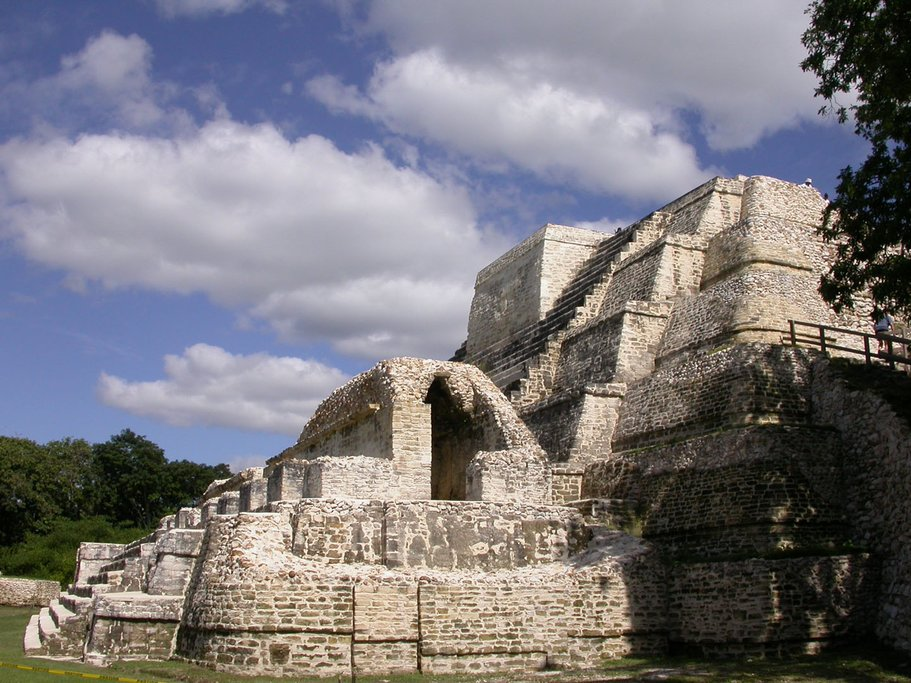 Tour the Altun Ha Mayan ruins