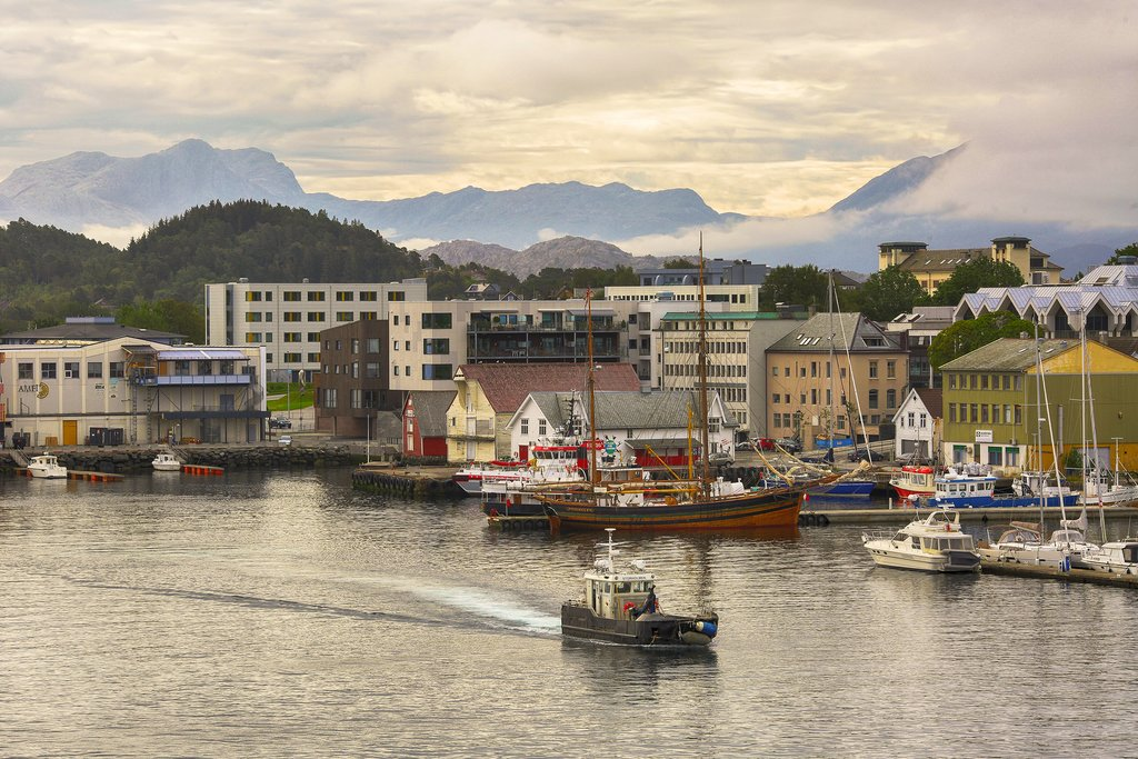 Sail into Florø's charming harbor