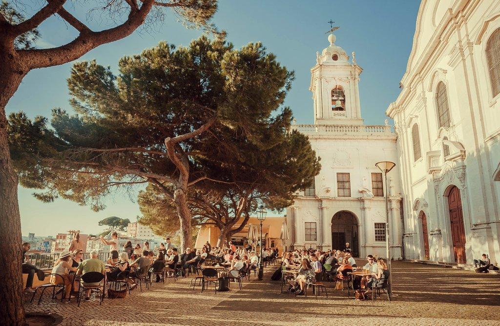Outdoor Terraces in Lisbon