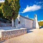 Walkway and stone chapel on Marjan Hill