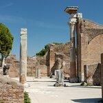 Columns of Ostia Antica - Photo by Marie-Lan Nguyen
