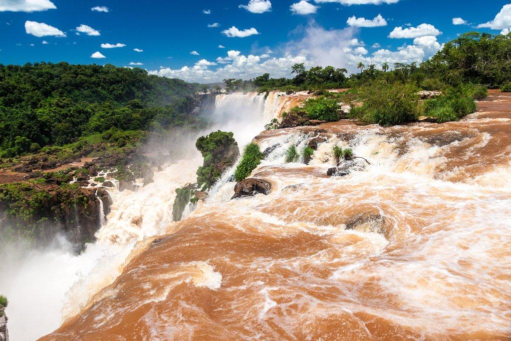 A visit to the Iguaçu Falls on the Brazilian side