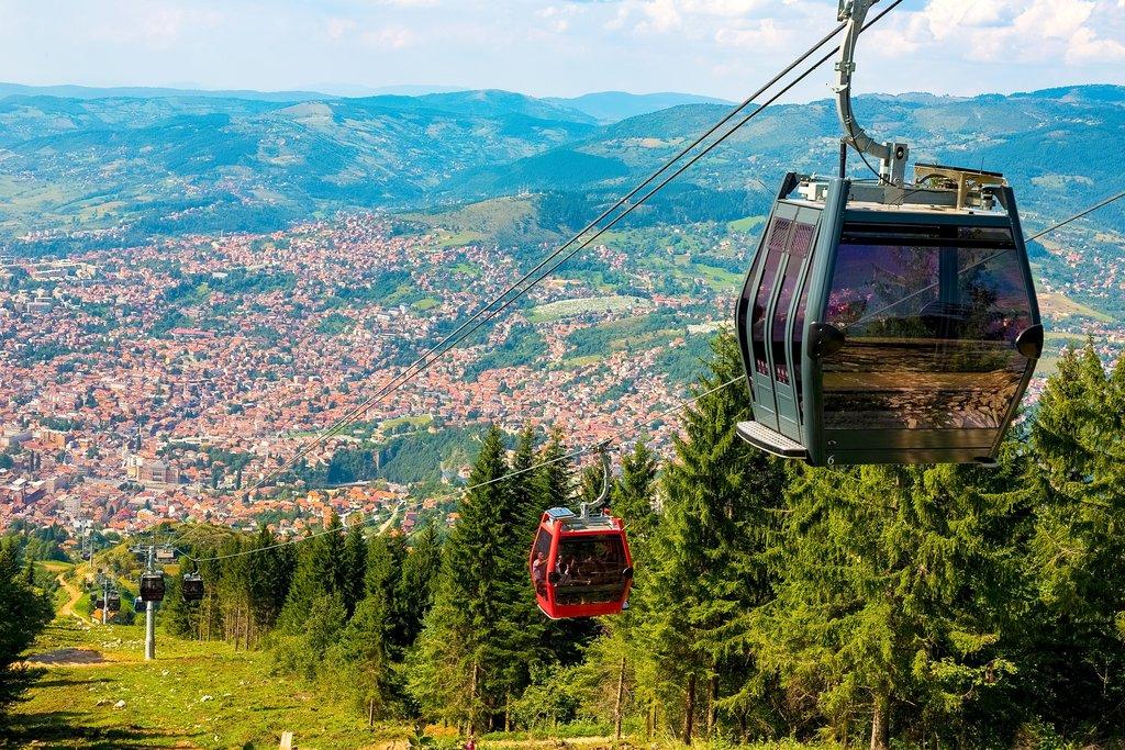 Sarajevo cable cars