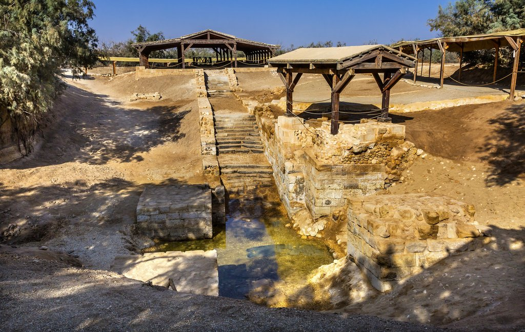 Jordan - Bethany - Site where John the Baptist babtized Jesus Christ