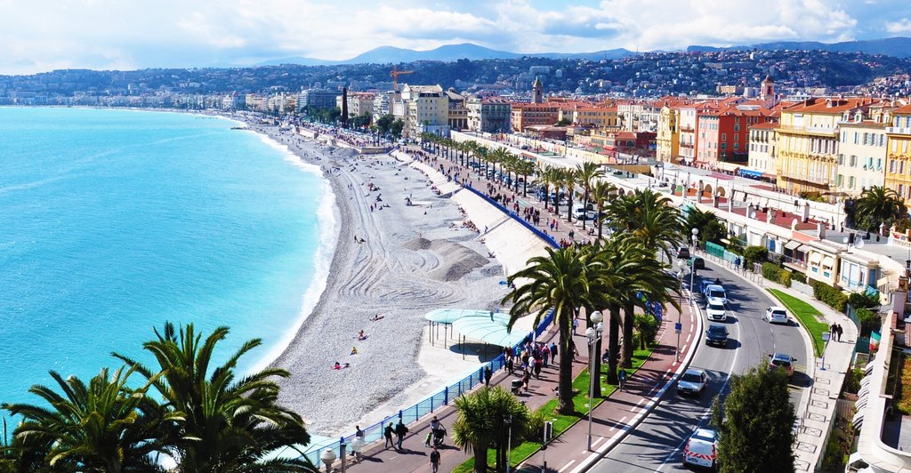 Seaside in Nice
