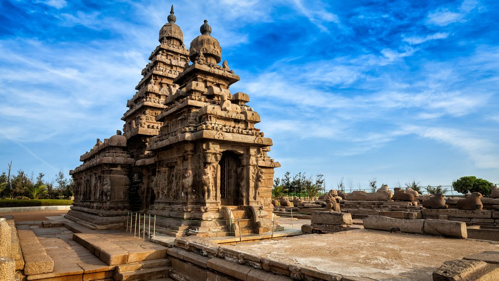 Shore Temple at Mahabalipuram, India