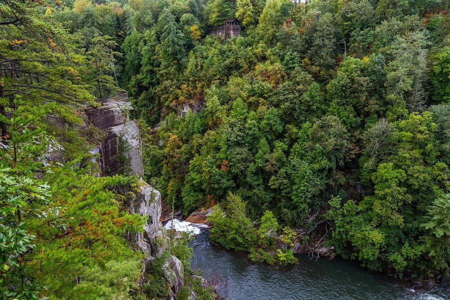 Stop at Tallulah Gorge along the way