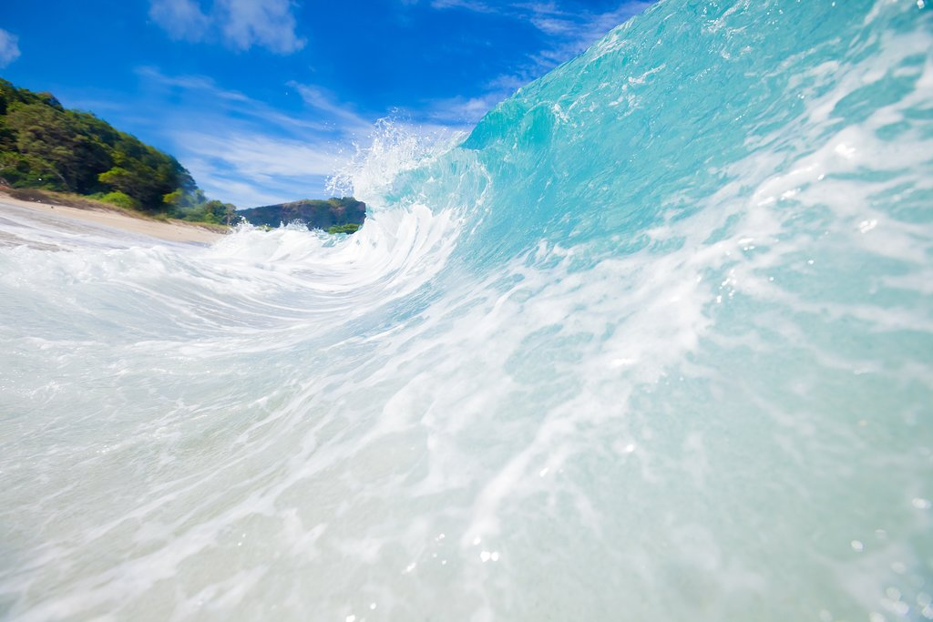 Sumbawa's perfect beaches are ideal for surfing