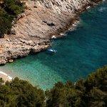 A hidden beach on Lastovo