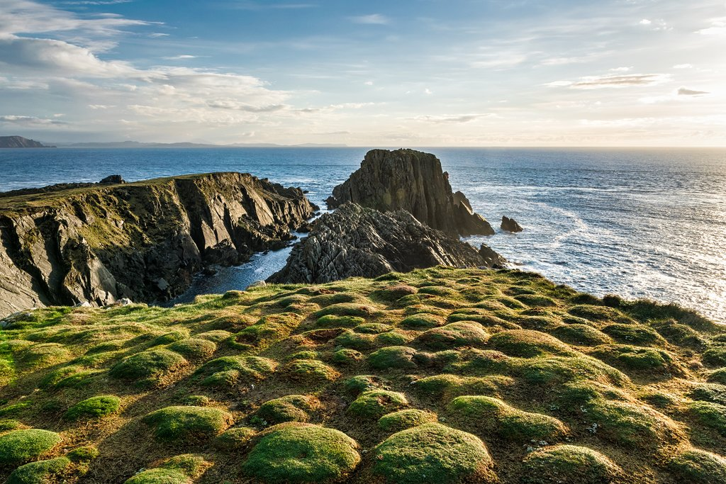 Views across Malin Head on the Inishowen Peninsula.