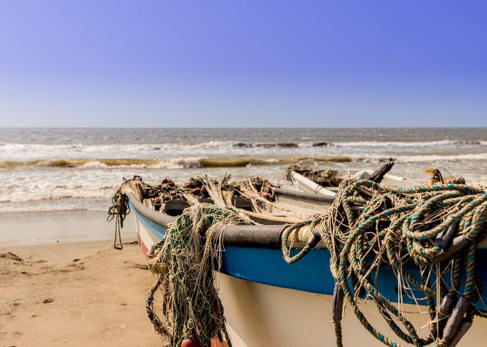 La Boquilla Fishing Village near Cartagena