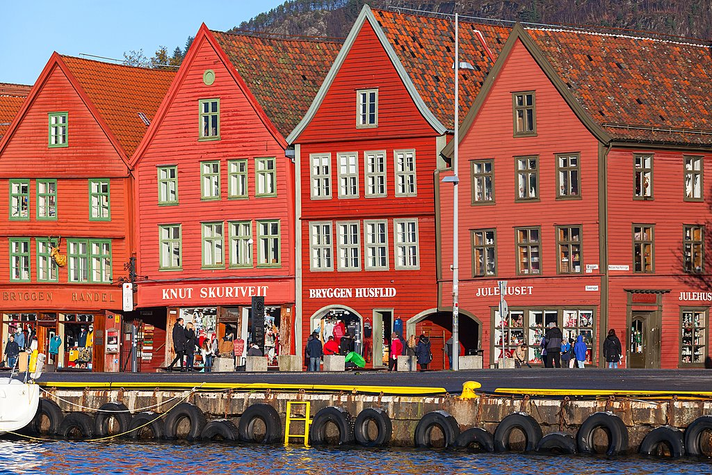 Bergen's colourful waterfront is a UNESCO-listed site