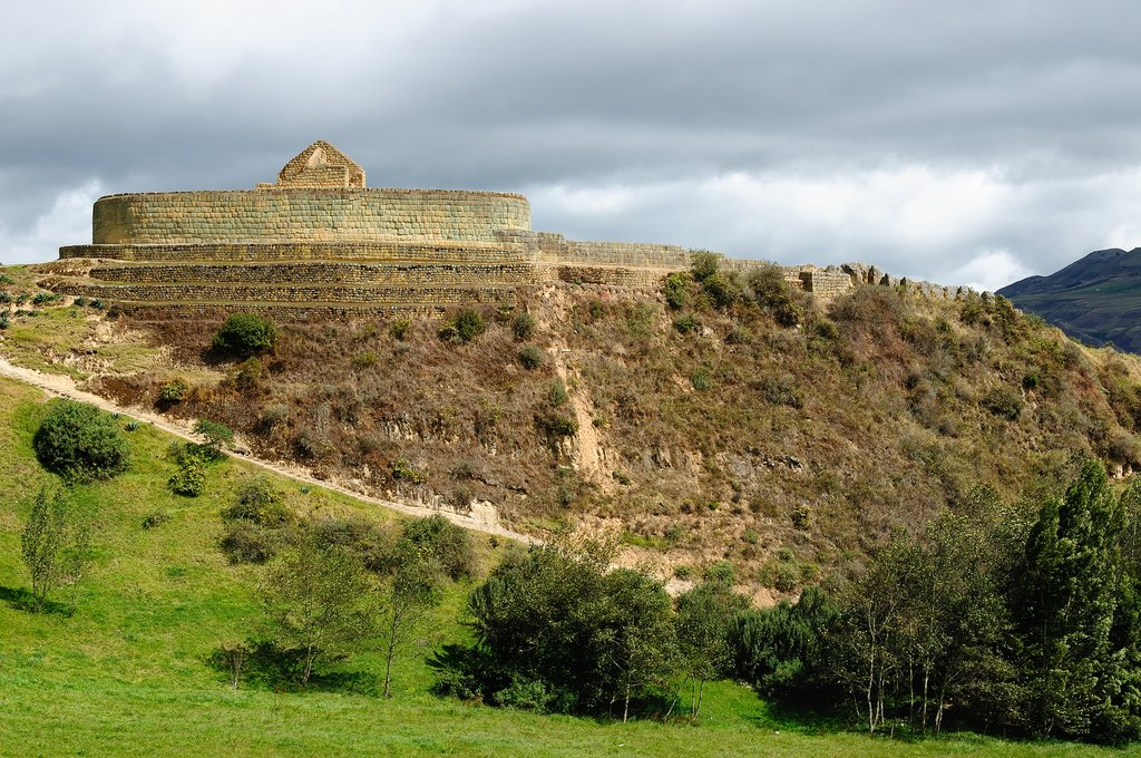 Ingapirca Inca City ruins
