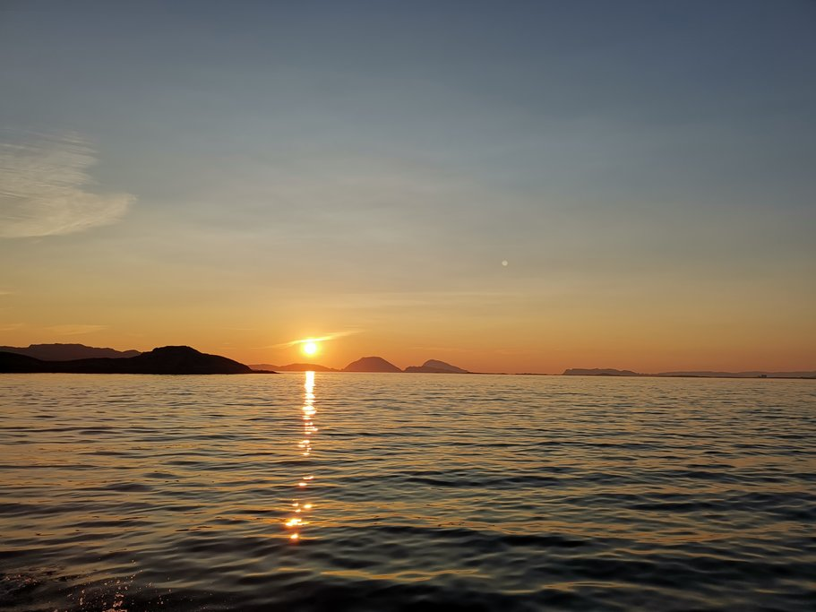 Sunset in Værlandet
