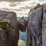 Hike the Kjerag Boulder