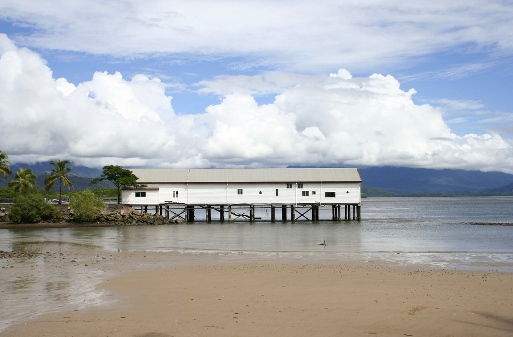 Australia - Port Douglas - Wharf facing Daintree NP