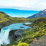 The glacial falls of Salto Grande