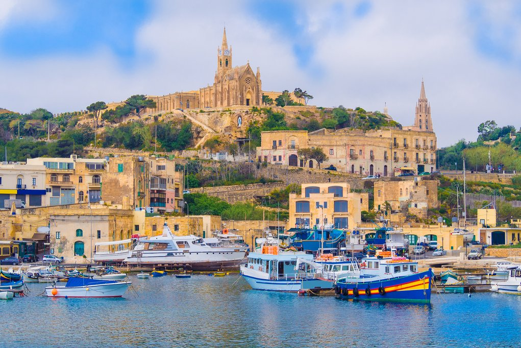 Mgarr Port, Gozo Island
