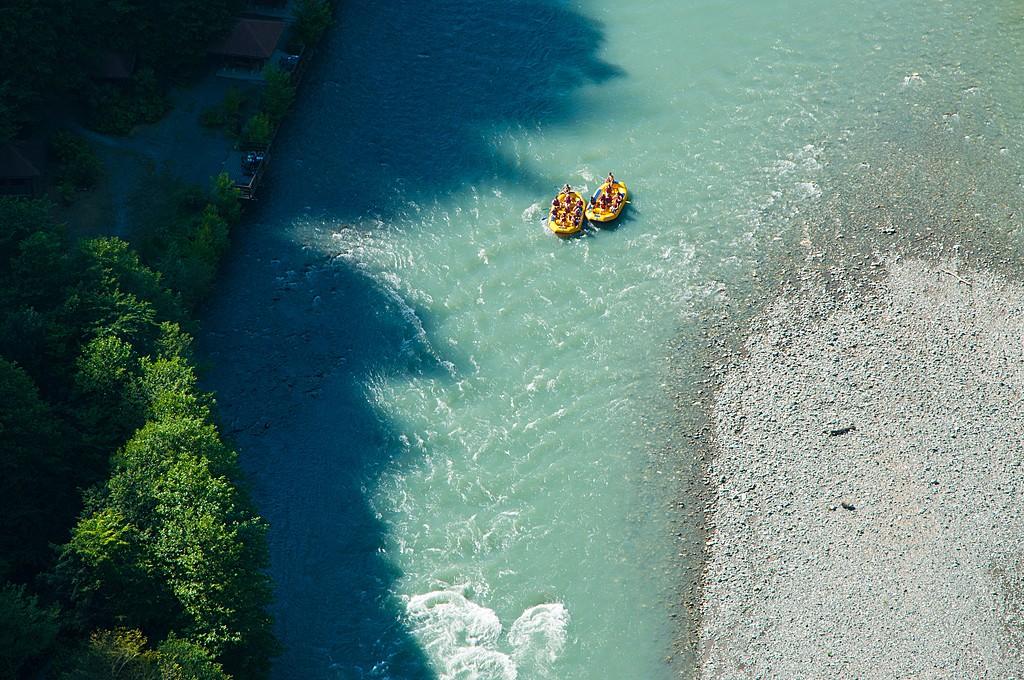 Rafting in the Soça River
